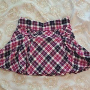 Gymboree Tartan Skirt 6